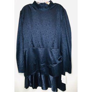 e115d7063 Something Navy Dresses - NWT Something Navy ruffled mock mini dress XL 0129